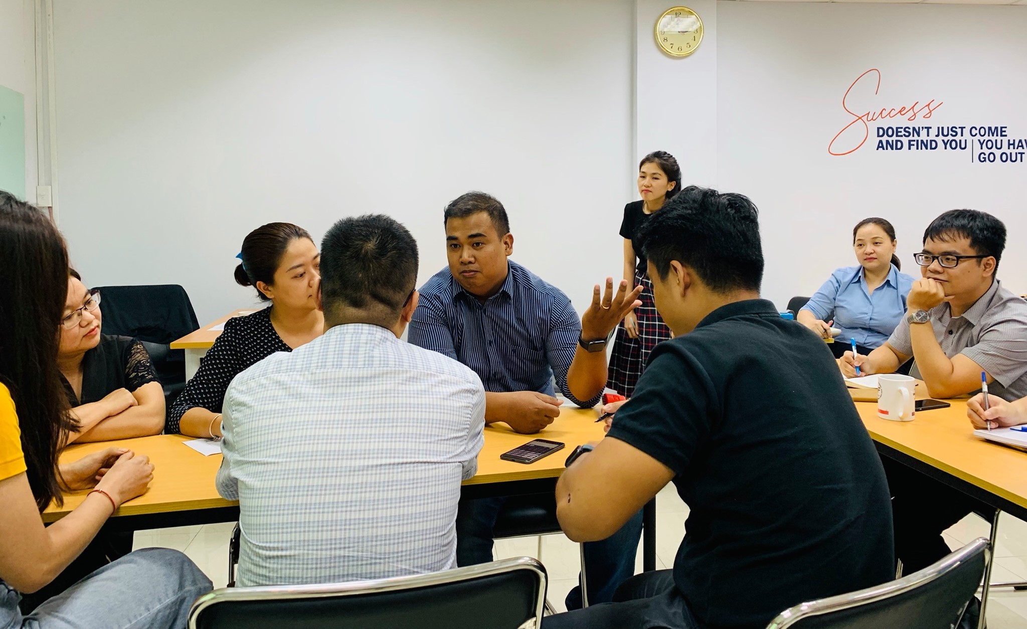 Experiencing the Environment of Learning IEMBA of PGSM in Vietnam